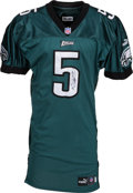 Football Collectibles:Uniforms, 2000 Donovan McNabb Game Worn Philadelphia Eagles Jersey - Used 9/10 Vs. New York....