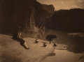 Photographs, Edward Sheriff Curtis (American, 1868-1952). At the Old Well of Acoma, 1904. Platinum. 5-3/4 x 7-3/4 inches (14.6 x 19.7...