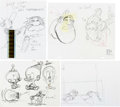 "Animation Art:Production Drawing, Ren and Stimpy ""Adult Party Cartoon"" Film Strip, AnimationDrawings, and Story Boards Group of 9 (Spumco, 2003).... (Total: 9Original Art)"