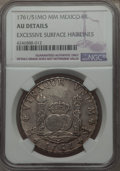 Mexico, Mexico: Charles III 8 Reales 1761/51 Mo-MM AU Details (ExcessiveSurface Hairlines) NGC,...
