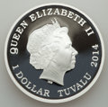 Australia, Australia: Elizabeth II Proof Dollar Set 2014,... (Total: 2 coins)