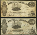 Obsoletes By State:Louisiana, Shreveport, LA- State of Louisiana $50 Mar. 10, 1863 Cr. 12. ... (Total: 2 notes)
