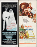 """Movie Posters:Foreign, Mississippi Mermaid & Other Lot (United Artists, 1969). Inserts (2) (14"""" X 36""""). Foreign.. ... (Total: 2 Items)"""