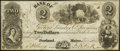 Obsoletes By State:Maine, Portland, ME- Bank of the Georgia Lumber Co. $2 Dec. 4, 1845 G4. ...