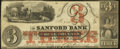 Obsoletes By State:Maine, Sanford, ME- Sanford Bank $3 July 16, 1860. ...