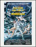 "Movie Posters:James Bond, Moonraker (United Artists, 1979). Promo Poster (20.5"" X 27"")Regular Style. James Bond.. ..."