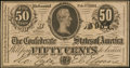 Confederate Notes:1864 Issues, T72 50 Cents 1864 PF-2 Cr. 579.. ...