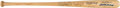 Baseball Collectibles:Bats, 1980's Ted Williams & Bill Terry Multi Signed Bat. ...