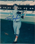 Baseball Collectibles:Photos, 1970's Tony Conigliaro Signed Photograph. ...