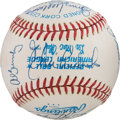 Baseball Collectibles:Balls, 1983 Baltimore Orioles Team Signed Baseball....