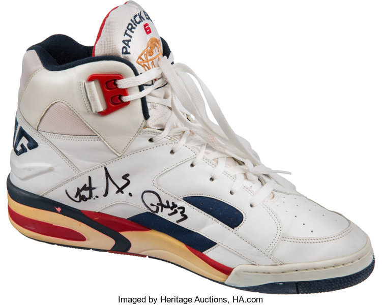 6d4fb41e951 ... Basketball Collectibles:Others, 1992 Olympic Games Patrick Ewing Game  Worn & Signed USABasketball ...