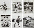 Baseball Collectibles:Photos, 1927 New York Yankees Signed Photographs Lot of 6. ...