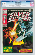 Bronze Age (1970-1979):Superhero, The Silver Surfer #12 (Marvel, 1970) CGC NM- 9.2 Off-white to white pages....