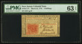 Colonial Notes:New Jersey, New Jersey March 25, 1776 3s PMG Choice Uncirculated 63 EPQ.. ...
