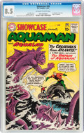 Silver Age (1956-1969):Superhero, Showcase #30 Aquaman (DC, 1961) CGC VF+ 8.5 Off-white to whitepages....