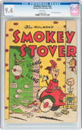Golden Age (1938-1955):Cartoon Character, Smokey Stover National Fire Protection (Dell, 1953) CGC NM 9.4 White pages....