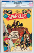 Golden Age (1938-1955):Miscellaneous, Sparkler Comics #97 Lost Valley pedigree (United Features Syndicate, 1951) CGC VF+ 8.5 Off-white pages....