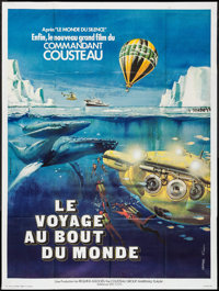"""Voyage to the Edge of the World (CCFC, 1976). French Grande (47"""" X 62.75""""). Documentary"""