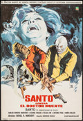 """Movie Posters:Foreign, Santo vs. Doctor Death & Other Lot (Cinematografica Pelimex, 1973). Mexican One Sheet (27"""" X 39"""") and Autographed Mexican Lo... (Total: 2 Items)"""