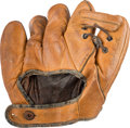 Baseball Collectibles:Others, 1940's Babe Ruth Double-Signed Baseball Glove....