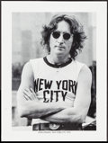 "Movie Posters:Rock and Roll, John Lennon by Bob Gruen (1980s). Personality Poster (18"" X 24"").Rock and Roll.. ..."