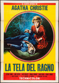 "Movie Posters:Mystery, The Spider's Web (Film Regina, R-1961). Italian 2 - Foglio (39.25""X 55""). Mystery.. ..."