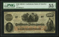 Confederate Notes:1862 Issues, T41 $100 1862 PF-5 Cr. 315.. ...