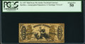 Fractional Currency:Third Issue, Fr. 1357 50¢ Third Issue Justice PCGS About New 50.. ...