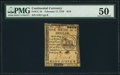 Colonial Notes:Continental Congress Issues, Continental Currency February 17, 1776 $1/6 PMG About Uncirculated 50.. ...