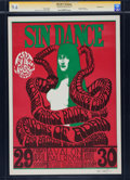 "Music Memorabilia:Posters, Grass Roots ""Sin Dance"" Avalon Concert Poster Signed by Wes WilsonFD-6 (Family Dog, 1966)...."