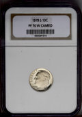 Proof Roosevelt Dimes: , 1979-S 10C Type One PR70 Cameo NGC. NGC Census: (1/0). (#85258)...