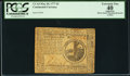 Colonial Notes:Continental Congress Issues, Continental Currency May 20, 1777 $2 PCGS Apparent Extremely Fine40.. ...