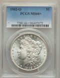 Morgan Dollars: , 1902-O $1 MS66+ PCGS. PCGS Population (623/20 and 79/0+). NGC Census: (595/24 and 19/0+). Mintage: 8,636,000. Numismedia Ws...