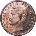 German States:Bavaria, German States: Bavaria. Otto Proof 5 Mark 1901 PR64 Cameo PCGS,...