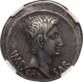 Ancients:Roman Imperial, Ancients: Augustus (27 BC-AD 14). AR cistophorus (25mm, 11.70 gm,12h)....