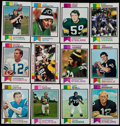 Football Cards:Sets, 1973 Topps Football Complete Set (528)....