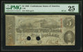 Confederate Notes:1863 Issues, T60 $5 1863 PF-16 Cr. 455.. ...