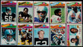Football Cards:Sets, 1977 Topps Football Complete Set (528). ...