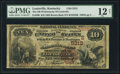 National Bank Notes:Kentucky, Louisville, KY - $10 1882 Brown Back Fr. 490 The NB of Kentucky Ch.# (S)5312. ...