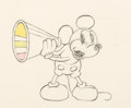 Animation Art:Production Drawing, Around the World in 80 Minutes Mickey Mouse Production Drawing (Walt Disney, 1931). ...