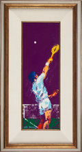 Miscellaneous Collectibles:General, 1975 Tennis Original Painting by LeRoy Neiman....