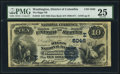 National Bank Notes:District of Columbia, Washington, DC - $10 1882 Date Back Fr. 542 The Riggs NB Ch. # (E)5046. ...