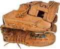 Baseball Collectibles:Others, 1980's George Brett Game Used Fielder's Glove. ...
