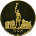Italy, Italy: Olympic gold Medal 1960 Proof,...
