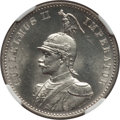 German East Africa, German East Africa: German Colony. Wihelm II 1/2 Rupie 1897 MS64NGC,...