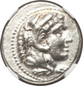 Ancients:Greek, Ancients: MACEDONIAN KINGDOM. Alexander III the Great (336-323 BC).AR tetradrachm (17.13 gm)....