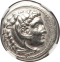 Ancients:Greek, Ancients: MACEDONIAN KINGDOM. Alexander III the Great (336-323 BC).AR tetradrachm (17.11 gm)....