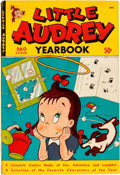 Golden Age (1938-1955):Humor, Little Audrey Yearbook nn (St. John, 1950) Condition: FN....