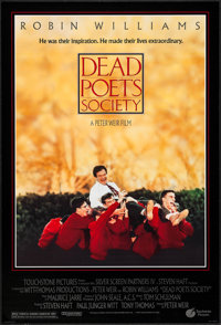 """Dead Poets Society & Other Lot (Touchstone, 1989). One Sheets (2) (27"""" X 41"""") DS. Drama. ... (Total: 2 Ite..."""