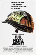 "Movie Posters:War, Full Metal Jacket (Warner Brothers, 1987). One Sheet (27"" X 41"") SS Advance. War.. ..."